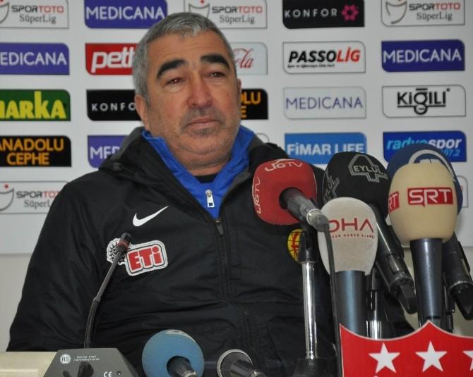 Medicana Sivasspor: 0 - Eskişehirspor: 1 (İlk yarı)
