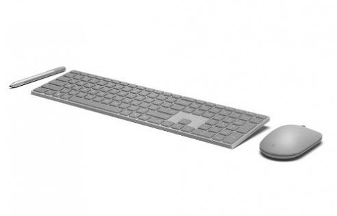 Microsoft'tan parmak izi okuyuculu klavye