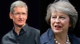 Apple CEO'su Tim Cook, Brexit Hakkında Konuşmak İçin Theresa May ile Görüştü!
