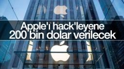Apple'ı Hack'leyene Ödül Verilecek!