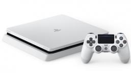 Beyaz PlayStation 4 Slim Gümbür Gümbür Geliyor!