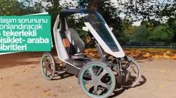 Bisiklet- Araba Hibritleri Ulaşım Sorunlarını Çözecek!