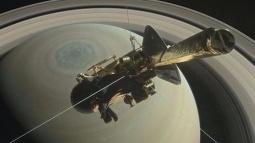Cassini Bugün Düşürülecek!
