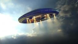 Fransa'da UFO Görüldü!