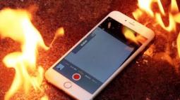 iPhone 7 Plus'ın Patlama Anı!