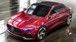 Karşınızda Mercedes Concept A Sedan!
