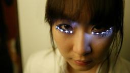 LED Kirpikler Yakında Moda Oluyor!