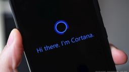 Microsoft'un Asistanı Cortana'tı 3 Boyutlu Halde Görmediniz!