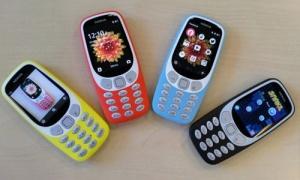 Nokia 3310 3G Resmen Tanıtıldı!