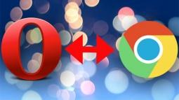 Opera Chrome'u Geride Bırakıyor!