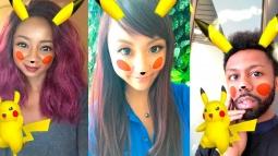 Snapchat'e Pikachu Filtresi Geldi!