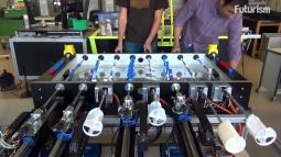 Sonunda Buda Oldu: Langırt Oynayan Robot İcat Edildi!