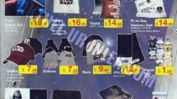 Star Wars Ürünleri Şok Market'e Geliyor!