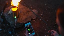 Telefonunuzu Kamp Ateşi İle Şarj Edin!