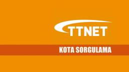 TTNET Kota Sorgulama Nasıl Yapılır?