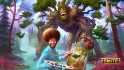 Ünlü Ressam Bob Ross Artık Oyunda!