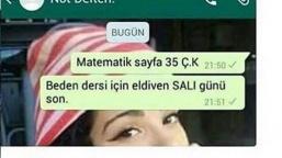 Whatsapp Komik Ekran Görüntüleri