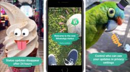 WhatsApp'ın Snapchat Taklidi Özelliği Bugün Başlatılıyor!